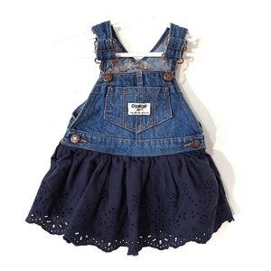 Oshkosh B'gosh vestbak jumper overall dress